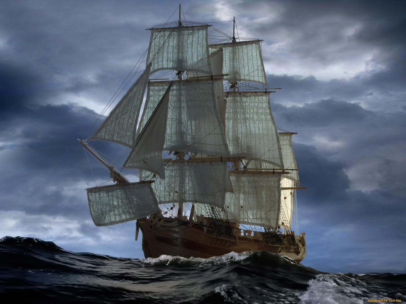 Баунти корабли парусники корабль